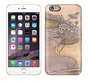 Best Power(Tm) HD Colorful Painted Watercolor Pincess Is Shy Hard Phone Case For Iphone 6 wangjiang maoyi