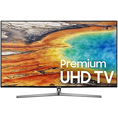 Samsung UN65MU9000 65-Inch 4K UHD Smart LED TV (2017 Model) with Samsung UBD-M9500 4K Ultra HD Blu-ray Player (both with 1 Year Extended Warranties)