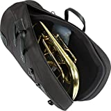 Gard Mid-Suspension Euphonium Gig Bag 51-MSK Black Synthetic w/ Leather Trim