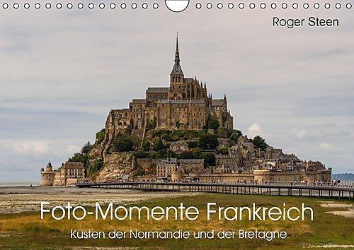 Küsten der Normandie und der Bretagne (Wandkalender 2017 DIN A4 quer)