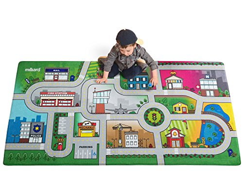 milliard-road-play-mat-39-x-79-with-luxurious-memory-foam-my-city-activity-floor-carpet-for-toy-cars