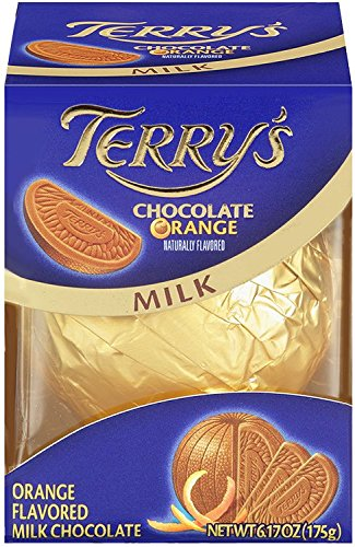 Terry's Milk Chocolate Orange Ball, 5.53-ounce Boxes (Packaging