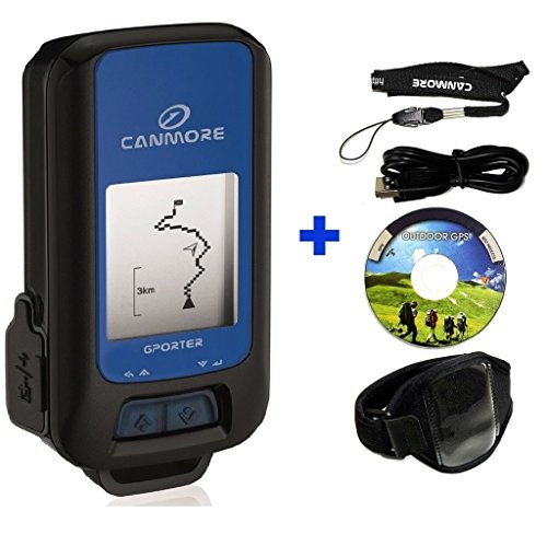 G-PORTER Multifiunction Handheld GPS Device (blue) with 15 Features/...