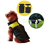 Pet Dogs Winter Vest Coat Jacket Apparel - Dog Cat Warm Soft Light Waterproof Coat Jacket Vest Harness Padded Puffer Warm Winter Clothes For Small to Large Dog - Price Xes