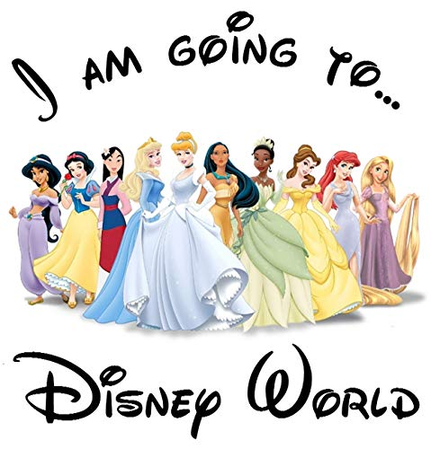 (I'm Going to Disney Iron On Transfer for T-Shirts & Other Light Color Fabrics #1)