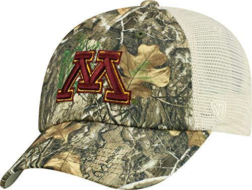 c5c83f54f21 Minnesota Gophers Camouflage Caps. Top of the World Men ...