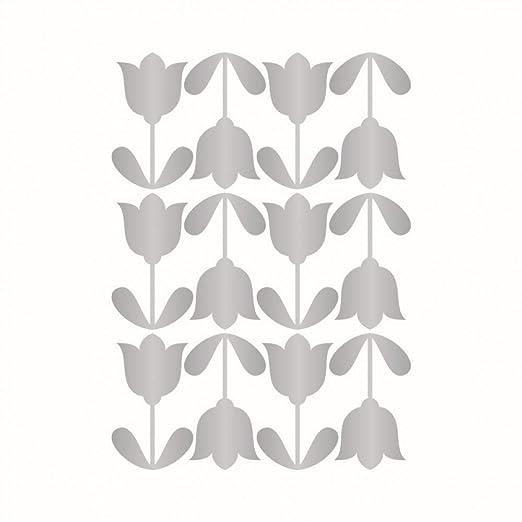 XMDNYE DIY Pegatinas de Pared tulipán de Dibujos Animados Vinilo ...