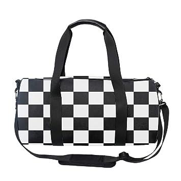 4c6375cb6a53 Ska Music Round Duffel Sports Bags, Travel Gym Fitness Bag