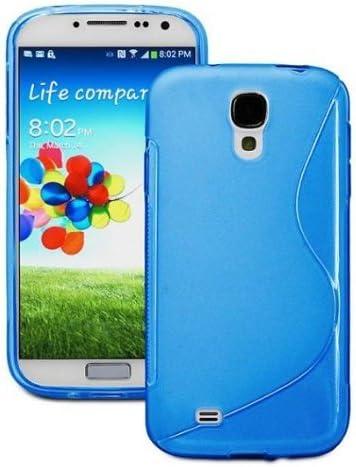 Charmate - Funda para Samsung Galaxy S4 mini i9505, de silicona S-Line BLAU: Amazon.es: Informática
