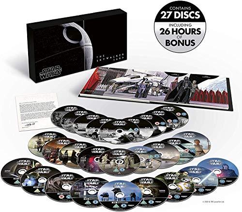 Star Wars: The Skywalker Saga - Limited Edition Complete Box Set UHD 4K Blu-ray Region Free