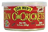 Zoo Med Can O' Crickets Insect Food, 1.2-Ounce, My Pet Supplies