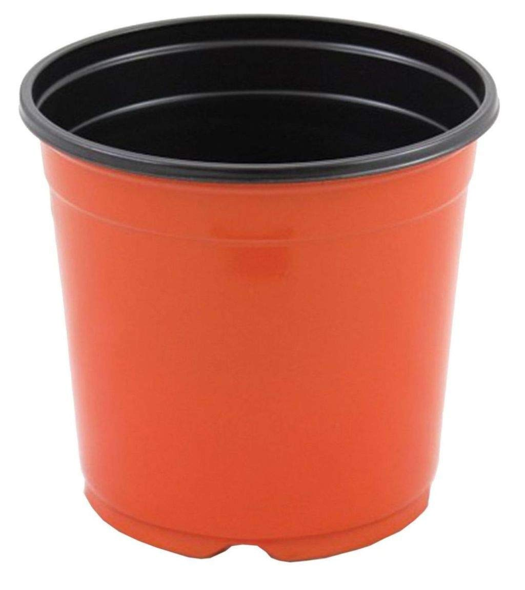 1 Gallon Trade Nursery Pots Clay Color Plastic Plant Flowers Ferns VP2