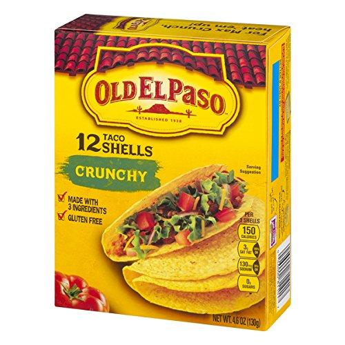 (OLD EL PASO Crunchy Taco Shells, 4.6 oz)
