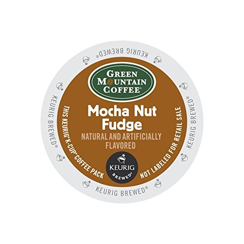 Green Mountain Coffee Mocha Nut Fudge K-Cups 96ct Flavored