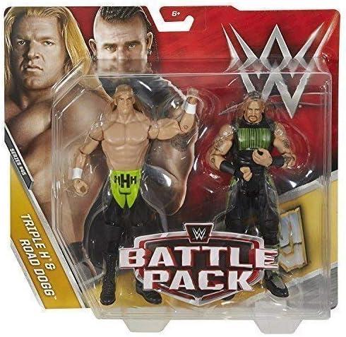 WWE Pack de Lucha Serie 45 Figuras de Acción - Triple H & Carretera Dogg D-Generation X : Amazon.es: Juguetes y juegos