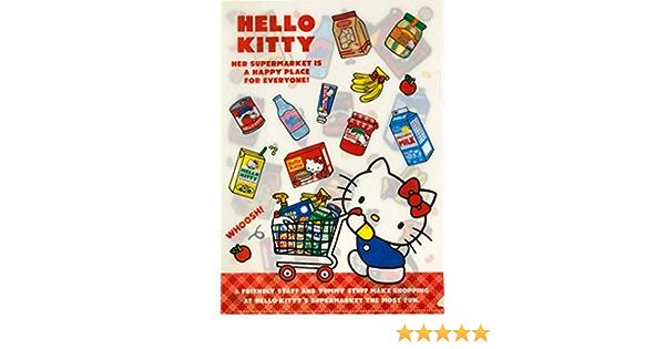Sanrio Helo Kitty /& Friends retro A4 A5 File set of 3 classic