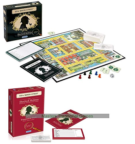 221B Baker Street - Base Game and 50 Case Expansion