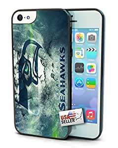 Seattle Seahawks Single Cell Phone Hard Protection Case for iPhone 5c