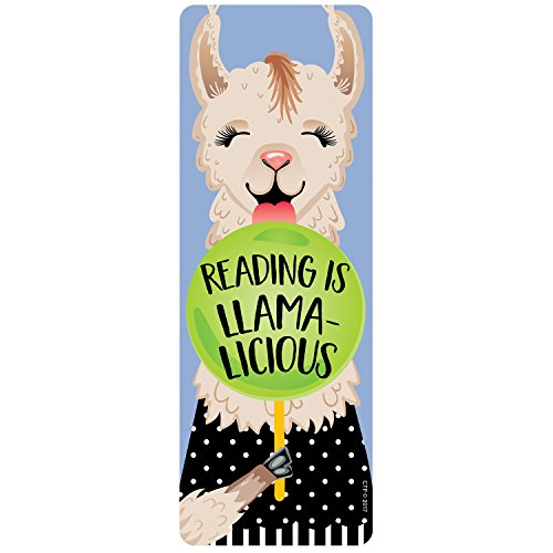 Creative Teaching Press Reading is Llama-licious! Bookmark, CTP (0440)