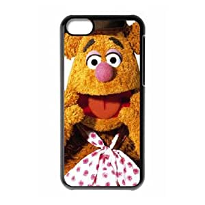 (OEFC) The Muppets Fozzy Bear iPhone 5c Cell Phone Case Black