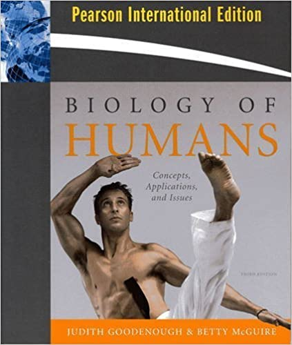 Biology of Humans (Pearson International Edition) by Judith Goodenough & Betty McGuire (2010-01-01)