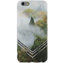 iPhone 6 Case,iPhone 6s Case,DICHEER iPhone 6 Phone Case Protective Slim Case Anti-Scratch Ultra Thin TPU Forest Design Case Cover for iPhone 6 6S 4.7 inch - 10