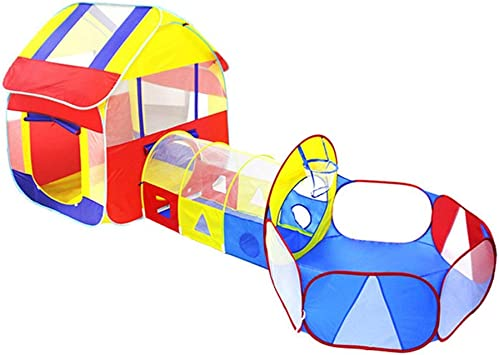 FQCD Kids Play Tent Ball Pit Play Tent and Tunnels for Pop