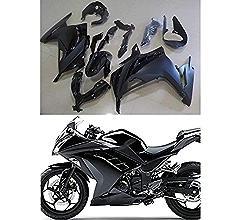 Moto Onfire ABS Injection White Black Plastic Fairing Kit For Kawasaki Ninja 300 EX300R ZX300R 2013 2014 2015 2016