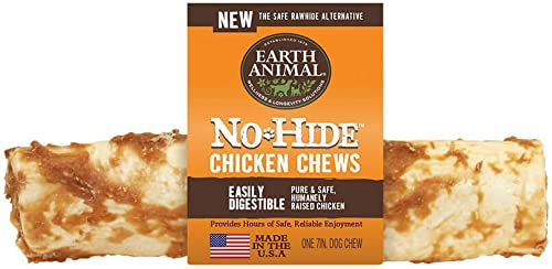 Earth Animal No Hide Chicken 7 Chews for Dogs