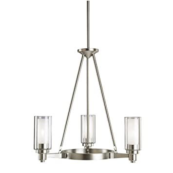 Kichler 2343ni three light chandelier ceiling pendant fixtures kichler 2343ni three light chandelier aloadofball Images