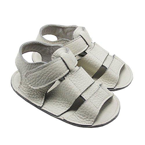 Mejale Baby Schuhe Neugeborenen Sandalen Leder Schuhe rutschfest Kleinkind ersten Wanderer Sommer Schuhe