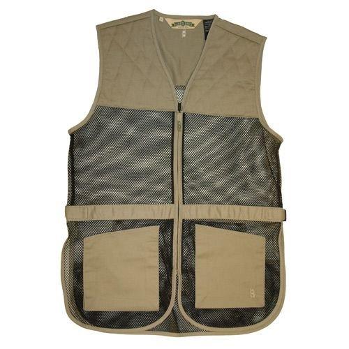 Boyt Harness Dual Pad Shooting Vest, Khaki, 4X by Boyt Harness