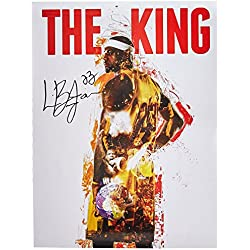 "777 Tri-Seven Entertainment Lebron James the King 18x24 Cavaliers 23 Color Poster African American History, 18"" x 24"""