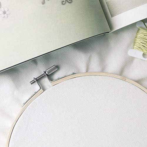 6 Gr/ö/ße runde handliche h/ölzerne Kreuzstichmaschine Stickrahmen