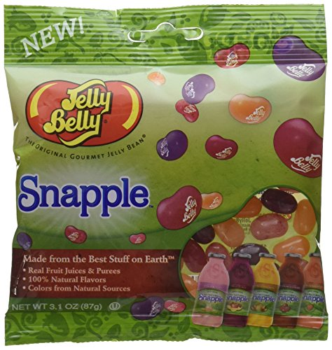 Jelly Belly Jelly Beans - Snapple Flavor Mix 3.1 ounces