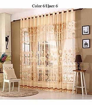 Luxus Gardinen Set für Wohnzimmer Europäischen Royal ...