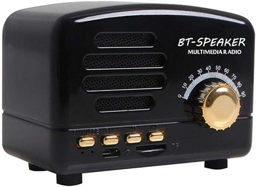 BT01 Mini Altavoz Bluetooth Receptor USB Estéreo Radio AM-FM y ...