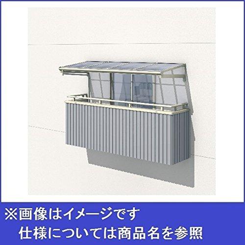 三協アルミ レボリューZ 2.0間×4尺 1500タイプ/メーターモジュール/123階用F型/柱なし式/単体 *雨トイは3m×2本を手配します 『テラス屋根』 ポリカーボネート サンシルバー B073S4VCY4 本体カラー:サンシルバー 本体カラー:サンシルバー