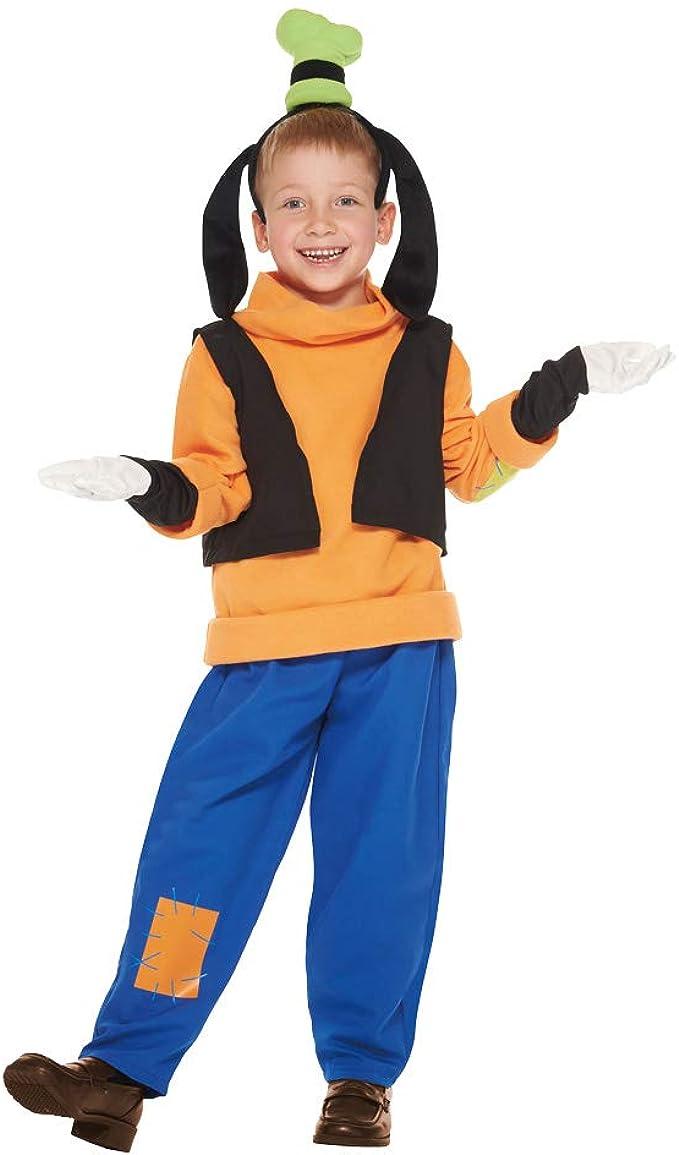 Amazon.com: Disfraz de Goofy de Disney para niño, tamaño ...