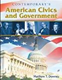 American Civics and Government - Hardcover Student Edition with CD-ROM, Matthew Downey, 0077045246