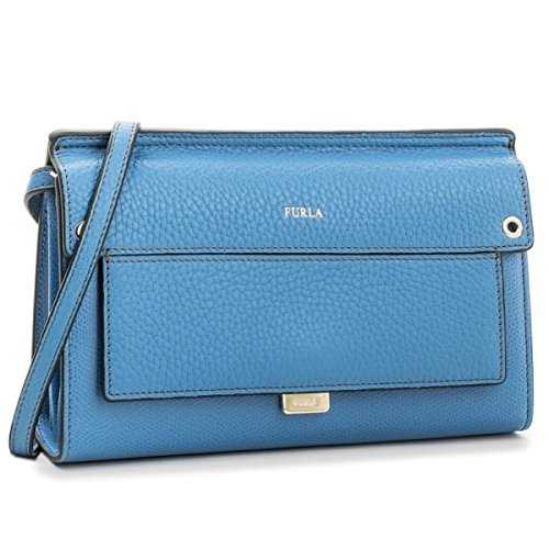 FURLA Like Mini Crossbody, Borse a tracolla Donna Celeste C