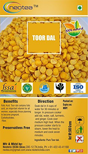 Neotea Toor Dal, 500g by neotea