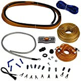 Cadence Acoustics AMPKIT4 17' Oxygen Free Copper OFC RCA Power Amplifier Kit Wires