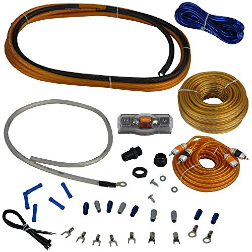 Cadence Acoustics AMPKIT4 17' Oxygen Free Copper OFC RCA Power Amplifier Kit Wires (1 8 Inch Split Loom Tubing compare prices)