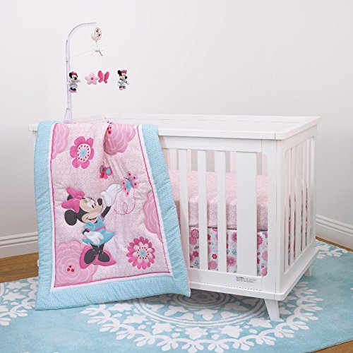 minnie mouse crib bumper - 4