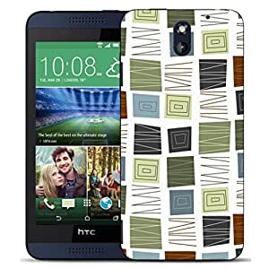 New Hard Printed BEAU ARTS Cover for HTC Desire 610 case - reassuring & Stylus by icecream design