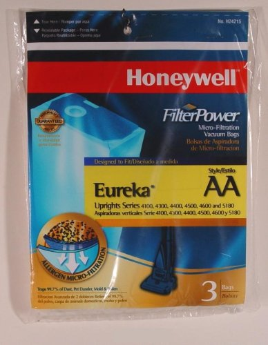 Honeywell H24215 Micro Filtration Vacuum Uprights