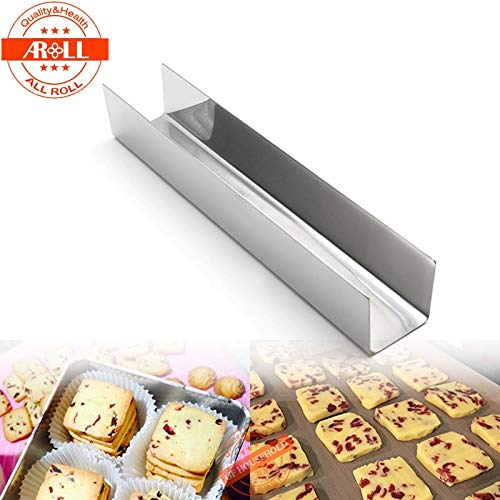 1 piece Metal U Shape Cake Biscuit Mold Mould Pan Baking Tool Gilardino Toast Cranberry Cookies Cake Maker Bread Baking Mold Mould