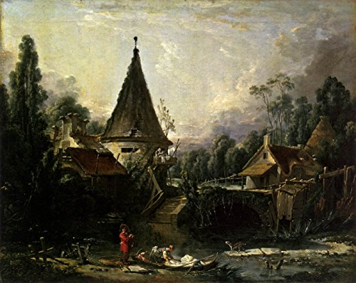 Landscape Near Beauvais by Francois Boucher - 20