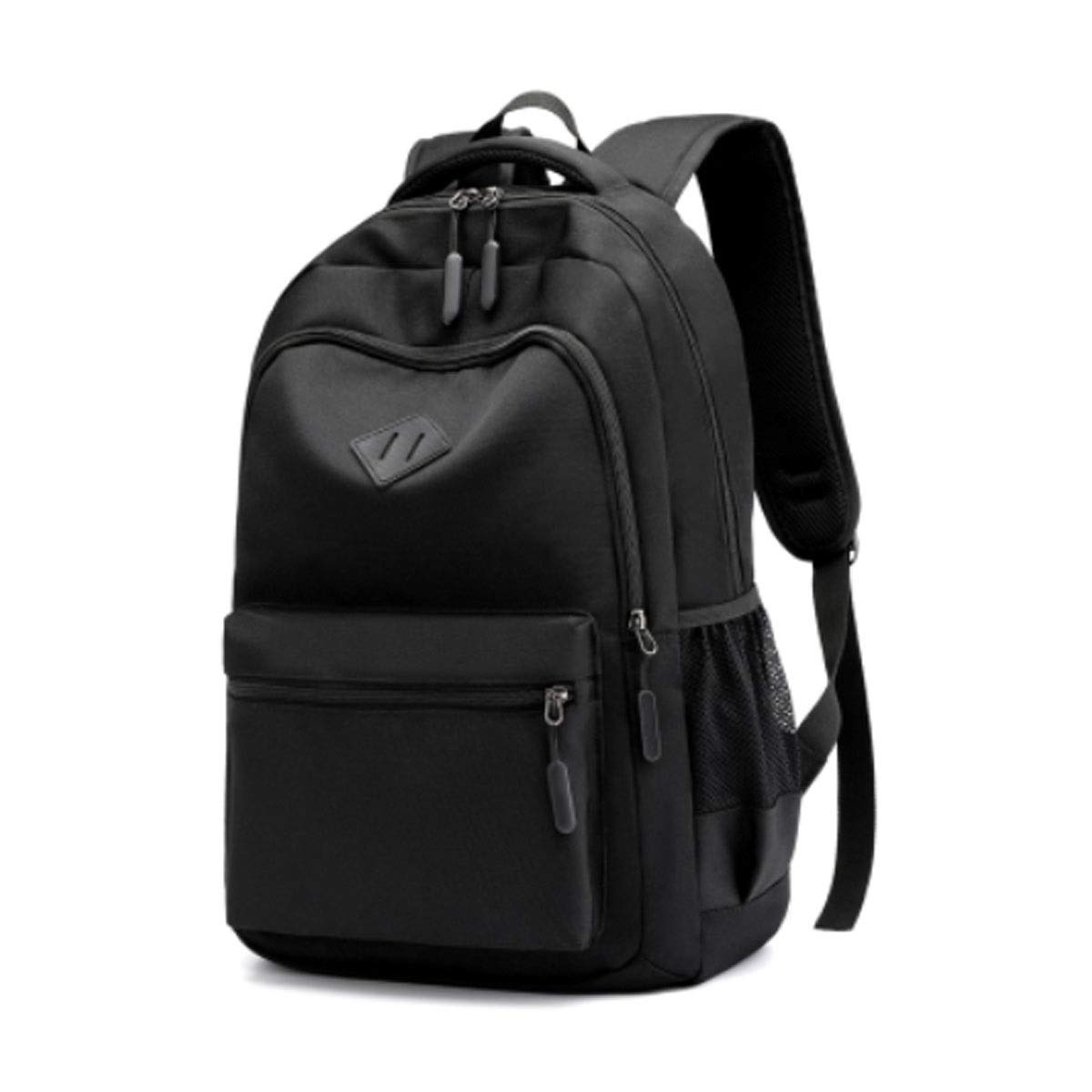 Borsa da scuola, borsa per studenti, zaino impermeabile resistente all'usura, adatto per studenti delle scuole superiori, 31  15-45cm, rosso, blu